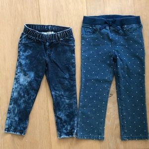 SET OF BABY GIRL JEANS